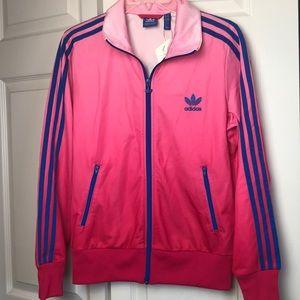 Cute Ombré Adidas Jacket!